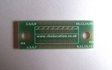 MW15 Breakout PCB for 15 Pin Multiwatt Package